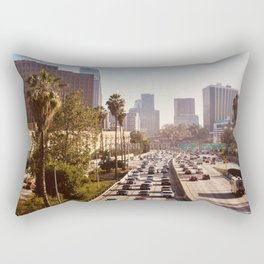 The Rush Hour, DTLA Rectangular Pillow