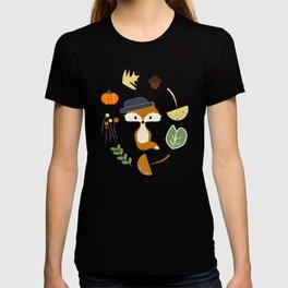 Cute fox in autumn II T-shirt