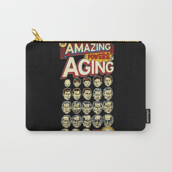 The Amazing Powers of Aging! Carry-All Pouch