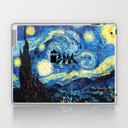 The Doctors Walking Of Starry Night Laptop & iPad Skin