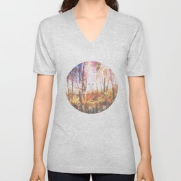 This is only Temporary by Debbie Porter Unisex V-Neck
