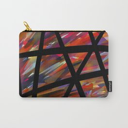 Colorful Chaos - Blacked Carry-All Pouch