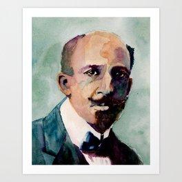 W.E.B. Du Bois Art Print
