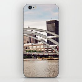 Frederick Douglass–Susan B. Anthony Memorial Bridge | Rochester NY iPhone Skin