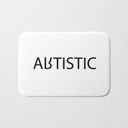 artistic/autistic Bath Mat