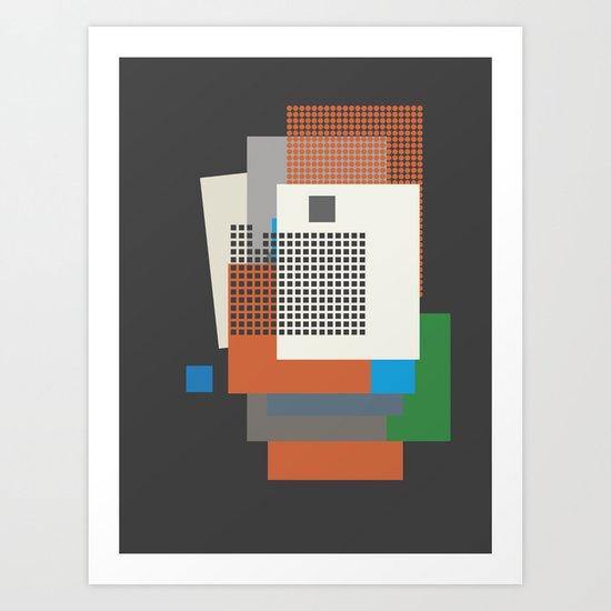 a kiss in the dreamhouse Art Print