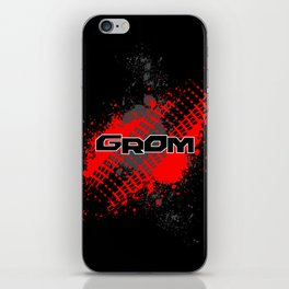 GROM, Red iPhone Skin