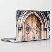 doors Laptop & iPad Skins featuring Doors by JMcCool