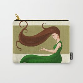 Gust of Wind Carry-All Pouch