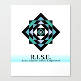 R.I.S.E. DESIGNS Canvas Print