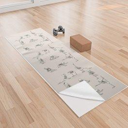 Skeleton Yoga Yoga Towel