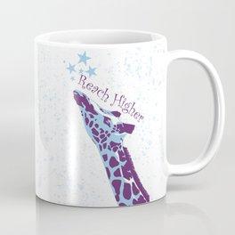 Giraffe Reach Higher Coffee Mug
