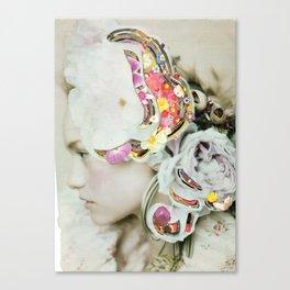 Portrait into the mind Canvas Print