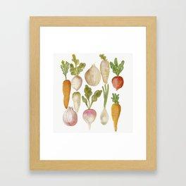 Veggie Garden Framed Art Print