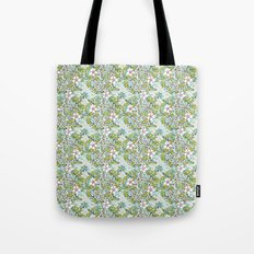 Flowers 'n Rain. Tote Bag