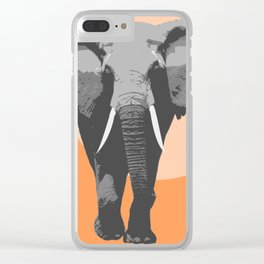 The big father Clear iPhone Case