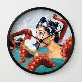 Ursula the Sea Creature Wall Clock