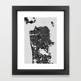 San Francisco – Abstract Map Framed Art Print