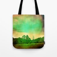 illusion Tote Bags featuring Illusion by Yoshigirl