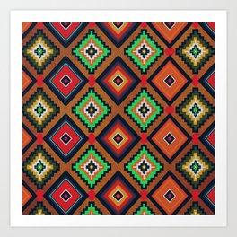 Indi-abstract#04 Art Print