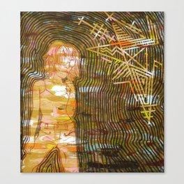 Dissonant Daphne and the Anechoic Star Canvas Print
