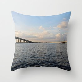 The Edison Bridge Throw Pillow
