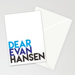 Dear Evan Hansen Stationery Cards