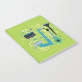 Midcentury Modern Fifties Jazz Composition Notebook