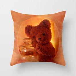 My Teddy Bear Toy Throw Pillow