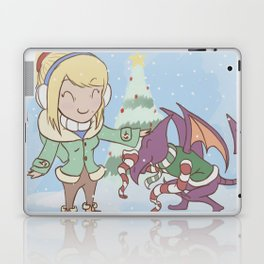 Samus in Christmas Laptop & iPad Skin