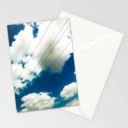 Lines and The Blue Sky Stationery Cards