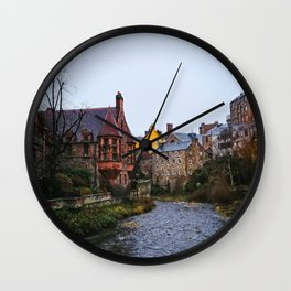 Dean's Village, Edinburg Wall Clock