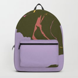 Abstract Rose Backpack