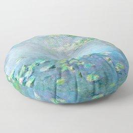 Monet Water Lilies / Nymphéas 1906 Floor Pillow