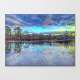 Winter at Caleb Smith Canvas Print