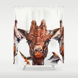 Simple Minds Shower Curtain