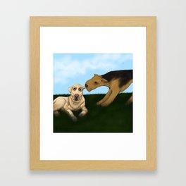 BFF Framed Art Print