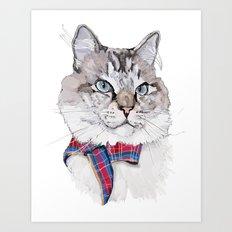 Mitzy Art Print