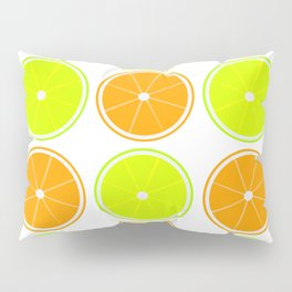 Oranges and Limes Pillow Sham
