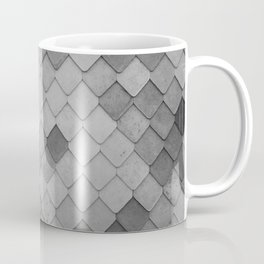 Fifty Gray Shades of Tiles (Black and White) Coffee Mug