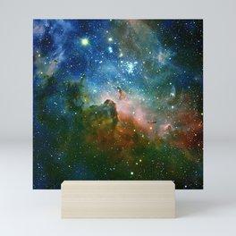 Hidden Secrets of Carina Nebula Mini Art Print