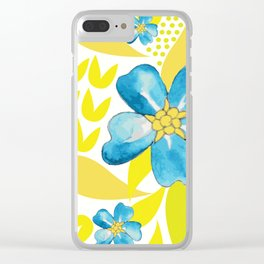 Summer Starlets Clear iPhone Case
