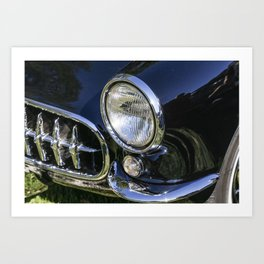Photograph of Classic Car Art Print