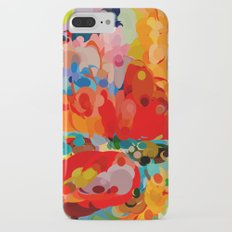 color bubble storm Slim Case iPhone 7 Plus