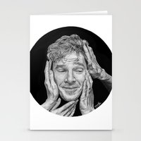 benedict Stationery Cards featuring Benedict Cumberbatch  by Cécile Pellerin
