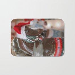 Santa Horse 6 - Retro Bath Mat