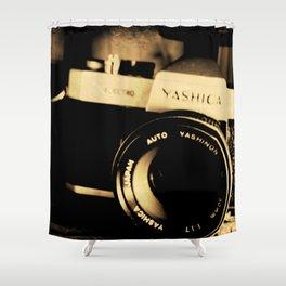 My Yashica Shower Curtain