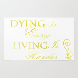 Hamilton: Dying is Easy Rug