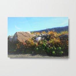 White Stone In The Sun Metal Print