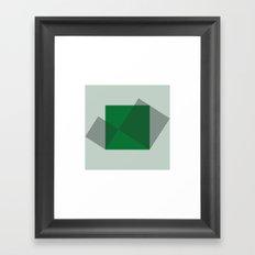 #90 Pythagoras – Geometry Daily Framed Art Print